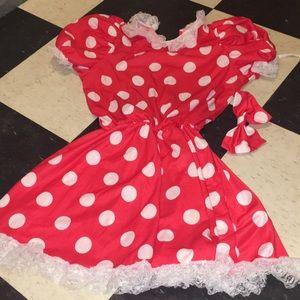 Vintage Disney Minnie Mouse costume